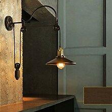 Europäische Retro-Wandlampe, Industriestil,
