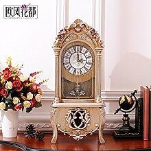 Europäische Retro Wohnzimmer Tisch Clock Clock