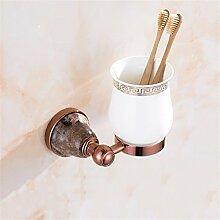 Europäische Rose Gold, Gold, Kupfer, Kaffee, Jade, Jade, Jade, Badezimmer Kleiderbügel Und Handtuchhalter, Einzelne Schale