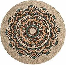 Europäische Runde Teppich Islamischen Stil