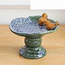 Europäische Soap Box Ornamente das Wohnzimmer Wein Schränke Zubehör Kreative Obstteller Keramik Geschenke-B
