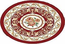 Europäische Stil Halbkreisförmige Form Kreative Haushalt Schlafzimmer Wohnzimmer Couchtisch Sofa Bedside Teppich ( Farbe : D , größe : 160cm )