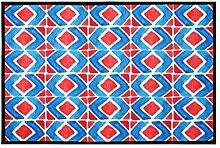 Europäische Stil Haushalt Badezimmer Komfortable Anti-Rutsch-Wasserabsorption Tragen Schlafzimmer Studie Wohnzimmer Hall Teppich ( Farbe : A , größe : 40*60cm )