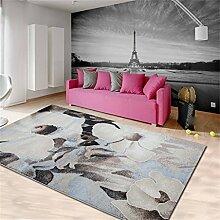 Europäische Stil Modern Einfache Zusammenfassung Wohnzimmer Teppich Couchtisch Sofa Schlafzimmer Teppich ( farbe : # 12 , größe : 80*150CM )