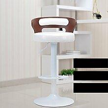 Europäische Stil Retro Bar Stühle / Rezeption Mode Bar Hocker / einfache High Stuhl, Lift Rotation ( stil : G )