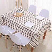 Europäische Tischdecke Baumwolle rechteckige