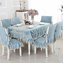 Europäische Tischdecke/Einfachen Stil Esszimmer Tischdecke/Tee Tischdecke-B 110x160cm(43x63inch)
