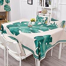 Europäische Tischdecke Leinen Tischdecke,