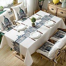 Europäische Tischdecke Rechteckige Tischdecken