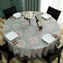 Europäische Tischdecke Runde Tischdecke