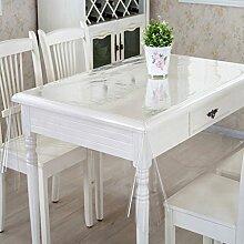 Europäische Tischdecke Sagging Tisch Mat Transparent Kunststoff Weichglas Tischdecken Wasserdichte Einweg Tischdecken PVC Kaffee Tischplatte ( größe : 180*250cm )