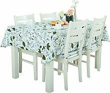Europäische Tischdecke Tischdecke Rectangle, Cotton Fresh Tuch Valley Wohnzimmer Tuch Tischdecke Couchtisch Kleine runde Tisch Tischdecke ( Farbe : Bunte , größe : 140*180CM )