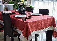 Europäische Tischdecke Tischdecke Rectangle