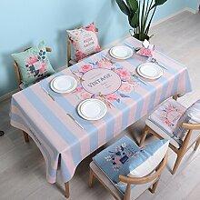 Europäische Tischdecke Tischdecken aus Baumwolle