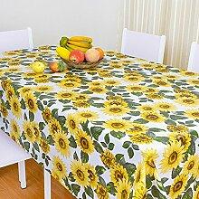 Europäische Tischdecke Wasserdichte Tischdecke PVC Tischdecken Nicht waschen Tischmatten Kaffeetisch Tisch Tisch Tisch Tisch Tisch Plüsch Stoff ( Farbe : F , größe : 137*137cm )
