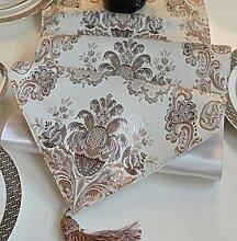 Europäische Tischfahne/Tisch/Bett Renner/Tischdecken/Tischdecke decke/Tischdecke decke-A 33x240cm(13x94inch)