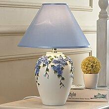 Europäische Tischleuchte/Schlafzimmer-bett,Hochzeitsgeschenke/Wärme,Dekorative Tischleuchten-B