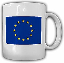 Europäische Union EU Europa Fahne Sternenbanner Flagge - Kaffee Becher Tasse #13265