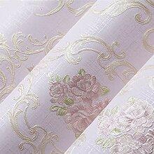 Europäische Vintage Luxus Tapeten Strukturierte