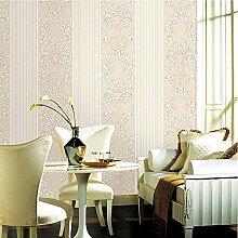 Europäische Vliestapete Vertikale Streifen Jane European Fashion Wohnzimmer Schlafzimmer , 2