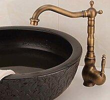 Europäischen Becken Wasserhahn Waschbecken Kupfer