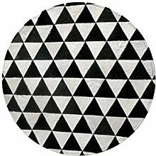 Europäischen Schwarz-Weiß Geometrische
