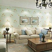 Europäischen Stil 3D fester Druck pastoralen Wind Wohnzimmer Schlafzimmer TV Hintergrund Wand Tapete 53X1000cm