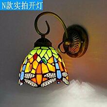 europäischen stil kreative wall lamp american