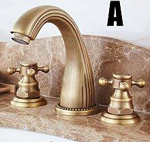 Europäischen Stil Kupfer Antike Wasserhahn Grün