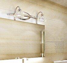 Europäischen Stil Lampen LED Wand Lampe Bad Bad Spiegel Lampe einfache amerikanische Toilette Spiegel Spiegel Spiegel Lampe Make-up Lichter ( Farbe : 2 head )