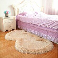 Europäischen Stil Lovely Heart-Förmigen Teppich