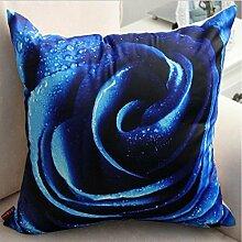 """Europäischen Stil Pflanze Baumwolle Bettwäsche floral dekorative Throw Pillow Kissen decken 18"""""""" , 11"""