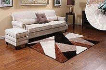 Europäischer Kaffeetisch Teppich Wohnzimmer Schlafzimmer Nachttischdecke Quadrat Balkon Schwimmende Decke Teppich ( Farbe : A7 , größe : 140CM×200CM )