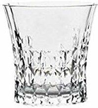 Europäischer Luxus Retro geschnitzte Kristallglas