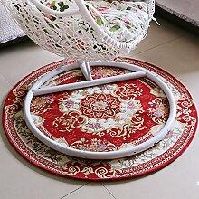 Europäischer runder Teppich, Nachttücher,