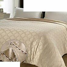 Europäischer Stil Einfarbig Blumen/Blumen 100% Baumwolle Sofadecken-I 200x230cm(79x91inch)