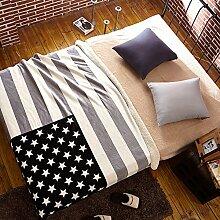 Europäischer Stil Geometrisch Polyester Sofadecken-D 130x160cm(51x63inch)
