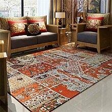 Europäischer Stil Großer Teppich Wohnzimmer Schlafzimmer Schlafsofa Sofa Couchtisch Retro Plaid Decke Teppich ( größe : 200*250cm )