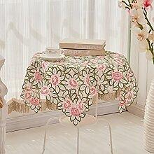 Europäischer stoff garten tea tisch tuch runder