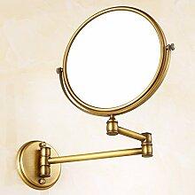 Europaweite Kupfer Spiegel/Spiegel/Kosmetikspiegel/reduzierbare ausziehbaren Spiegel