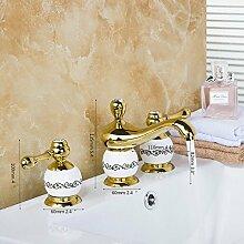 European Design Badezimmer Armatur Deck montiert