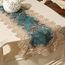 European lace belt/tee tischläufer/bett-runner/fabric-table-flag-A 35x180cm(14x71inch)
