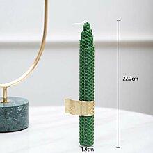 European Marble Light Luxury Metal Candleholder