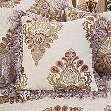 European pillow slip back kissenbezug sofa kissen covers-B 60x80cm(24x31inch)