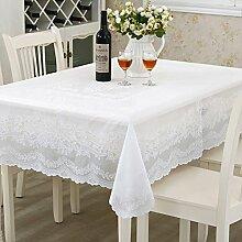 European round table/pvc tischdecke/wasserdichte Öl-freies plastik-tischtuch/tischtuch-C 137x137cm(54x54inch)