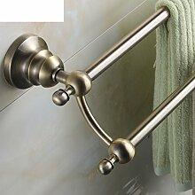 European-Style-Bad-Accessoires/Bad-Hardware-Zubehör-set/Green Sie Bronze antik Handtuchhalter-B