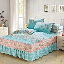 European Style Bed Rock Einzelne Baumwolle Bettdecke Bettwäsche Bettdecke Bett Schutz (1 Stück, ohne Kissenbezug) ( farbe : # 9 , größe : 150cmx200cm )