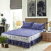 European Style Bed Rock Einzelne Baumwolle Bettdecke Bettwäsche Bettdecke Bett Schutz (1 Stück, ohne Kissenbezug) ( farbe : #8 , größe : 120*200cm )