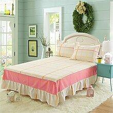 European Style Bed Rock Einzelne Baumwolle Bettdecke Bettwäsche Bettdecke Bett Schutz (1 Stück, ohne Kissenbezug) ( farbe : # 7 , größe : 180cmx200cm )