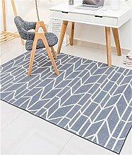 European Style Carpet Fashion Teppich Wohnzimmer Decke Sofa Couchtisch Teppich Nachttischdecke ( Farbe : B , größe : 140*200cm )
